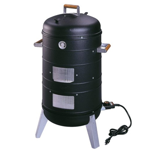 Meco Electric Grill and Combination Water Smoker