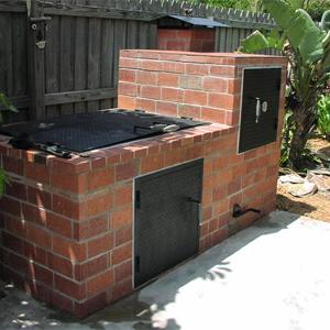 build a barbecue pit