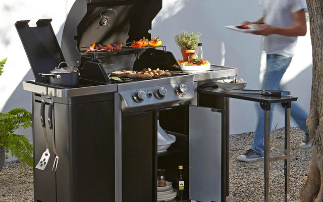 Barbecue Side Burner