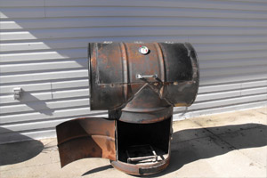 how to build a bbq smoker step 5
