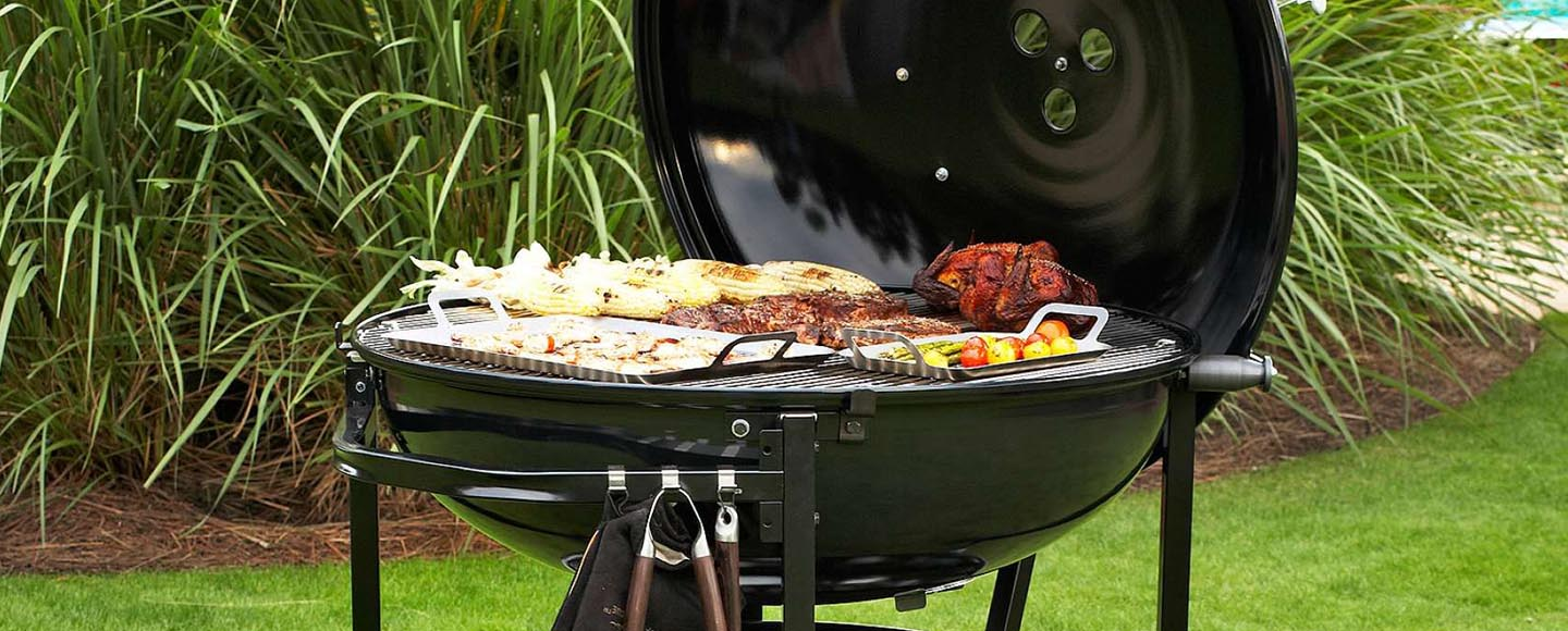 Weber The Ranch Charcoal Kettle Grill Review