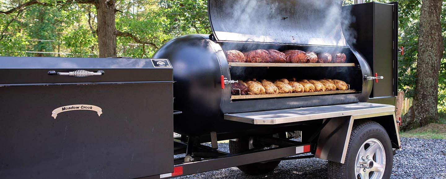 Barbecue Trailer Smokers