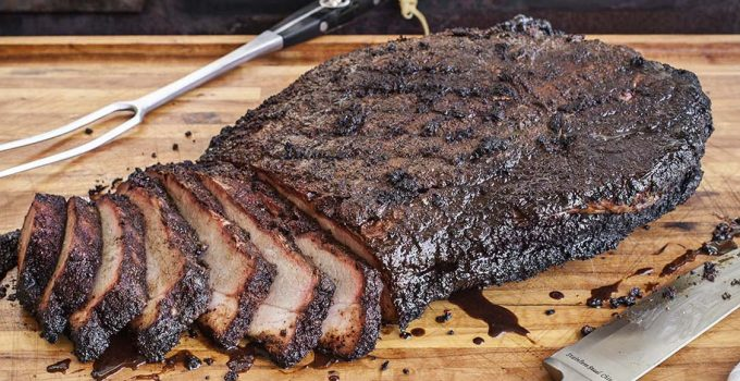 Tips for smoking a brisket using an electric smoker