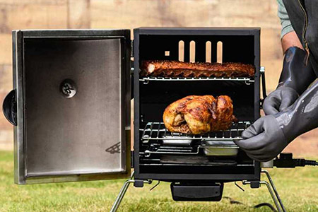 Electric Smoker Grill Combo: Masterbuilt Smoke Hollow Digital Electric Smoker
