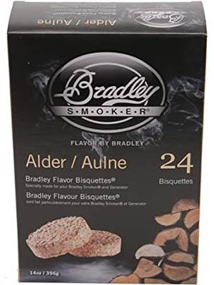 Bradley Smoker Alder Bisquettes
