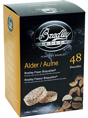 Bradley Smoker Apple Bisquettes