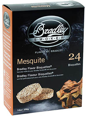 Bradley Smoker Mesquite Bisquettes