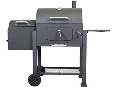 Landmann 560202 Charcoal Grill with Offset Smoker
