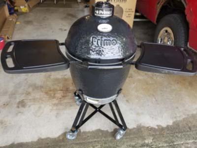 Char-Griller E6520 AKORN Kamado Cart Charcoal Grill