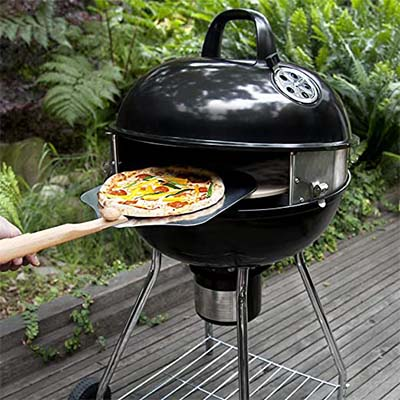 PizzaQue Deluxe Kettle Grill Pizza Kit