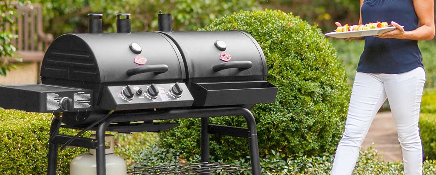 best hybrid gas charcoal grill