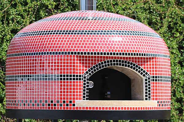 image of dome pizza oven