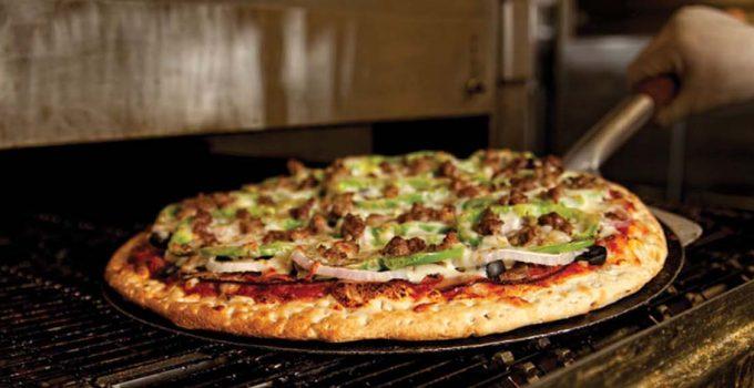 pizza oven menu