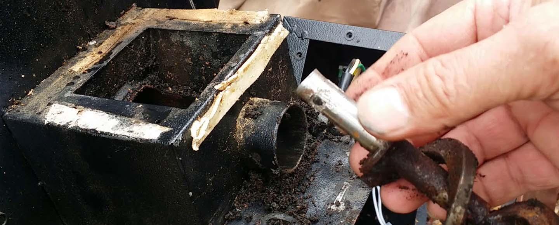traeger auger motor problems
