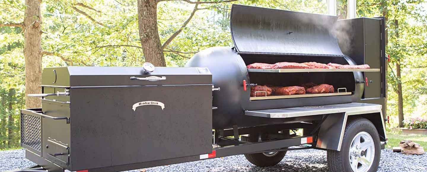 what is a reverse flow smoker