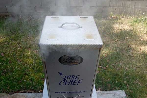 Little Chief Front Load Smoker Review