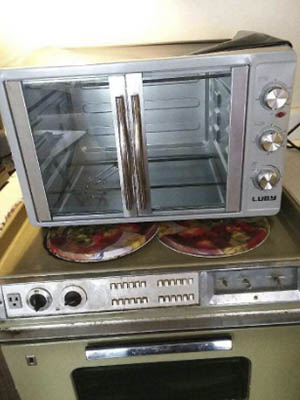 Luby Extra Large 55L Toaster Oven